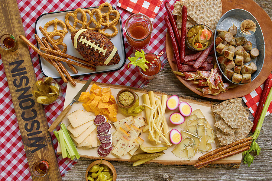 The Ultimate Tailgate Cheeseboard