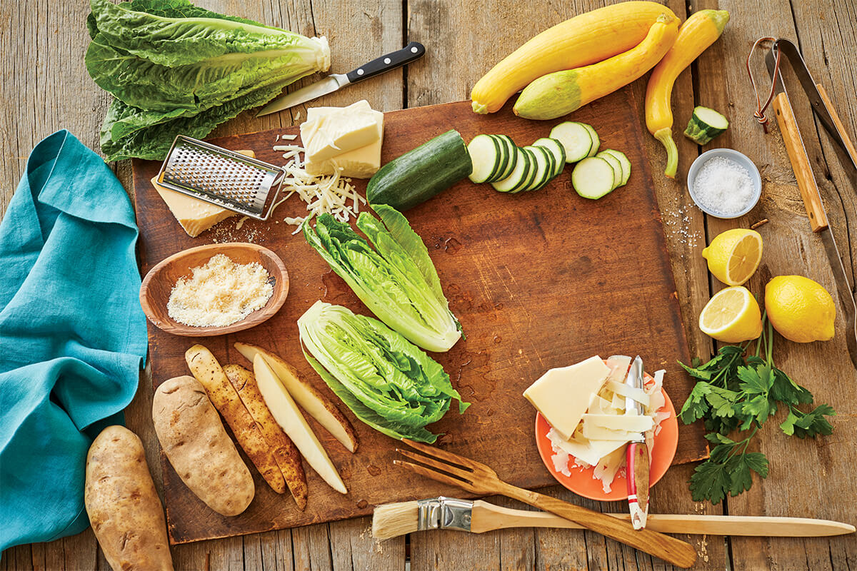The Cheese Lover's Guide: Veggie Grilling