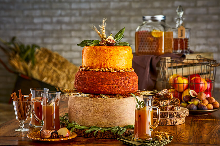 Cheese Wedding Cakes: Falling for Fromage