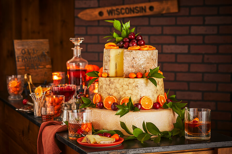 Cheese Wedding Cakes: Old-Fashioned Romance
