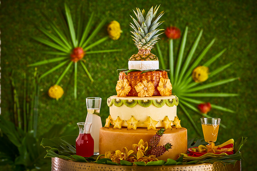 Cheese Wedding Cakes: Curds of Paradise