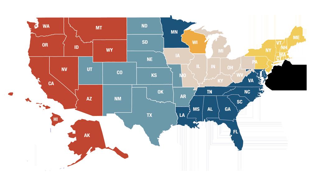 Regional Marketing Map