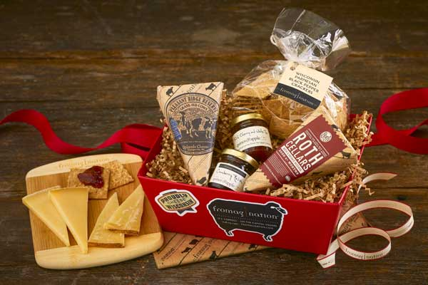 12 Gift Baskets For The Cheese Lover On Your List Wisconsin Cheese