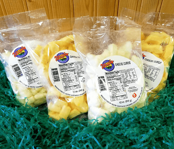 Order a Wisconsin Cheese Curd Gift Basket from Westby