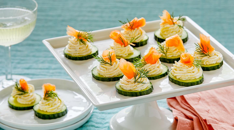 Wisconsin Cheese Alpine-Style Cucumber Bites Recipe