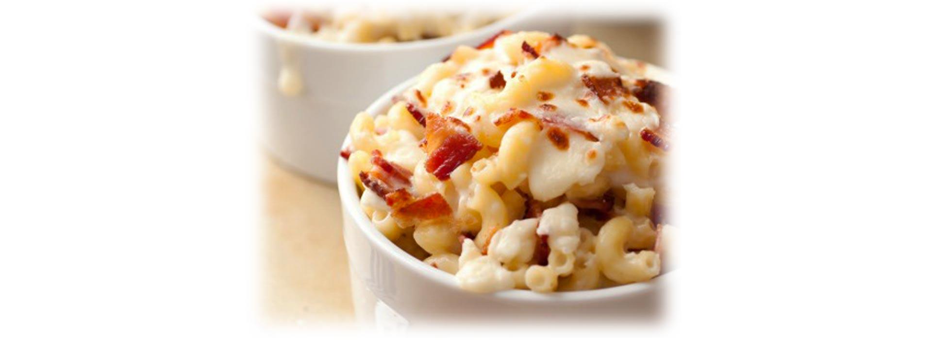Bacon Feta Mac and Cheese