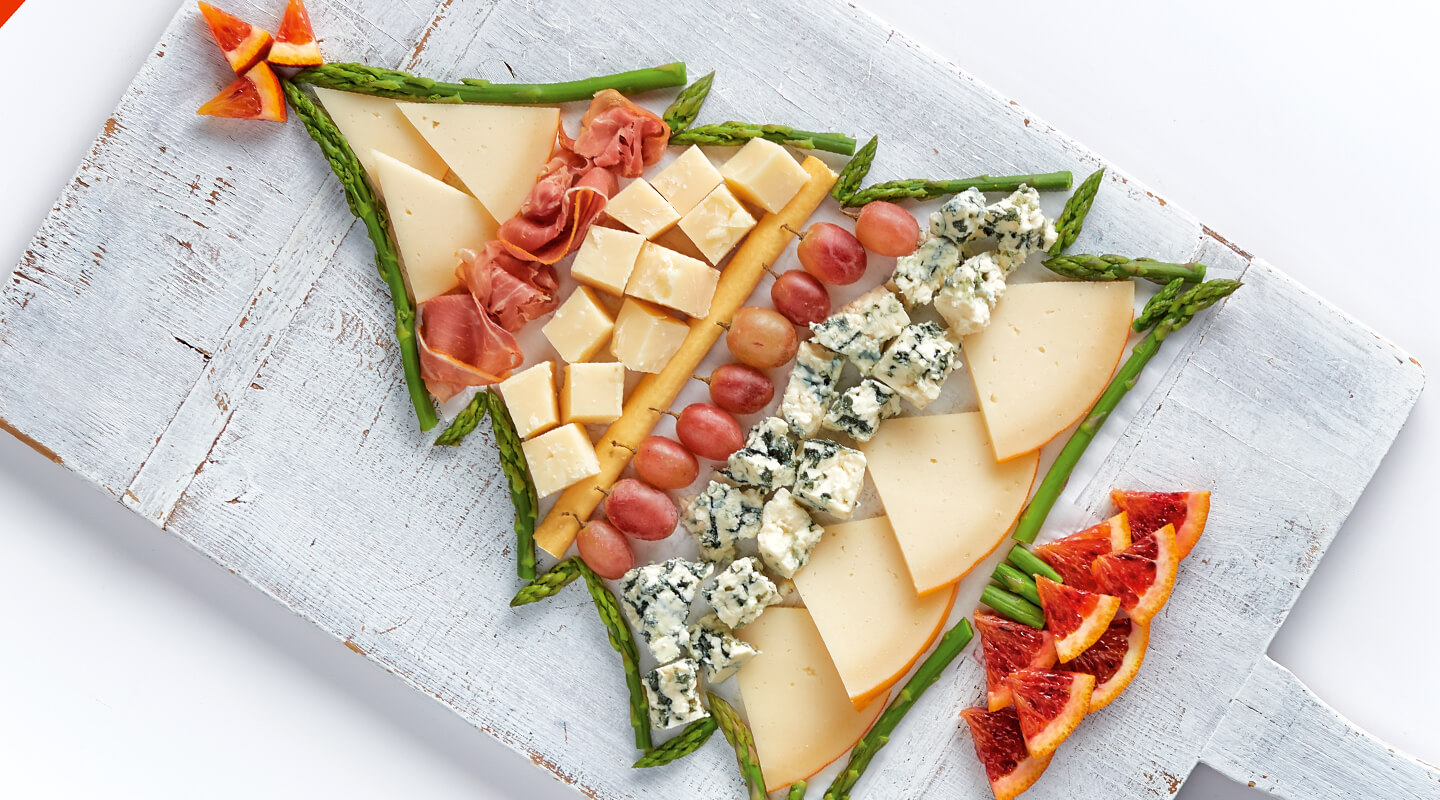 Wisconsin Cheese Holiday Tree Cheese Board Recipe