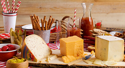 Ultimate Wisconsin Cheese Tailgate Board