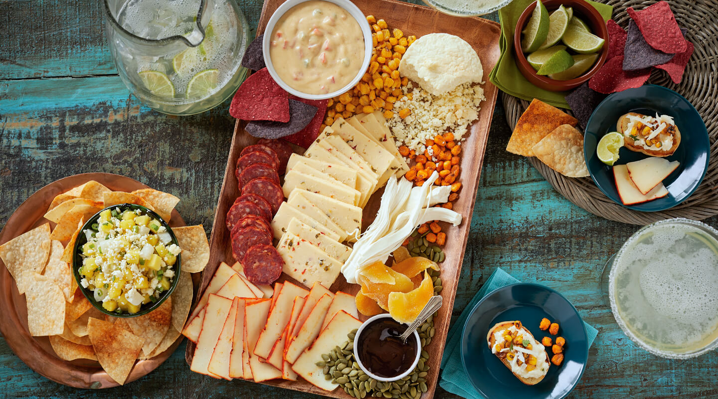 Wisconsin Cheese Fiesta Cheeseboard Recipe