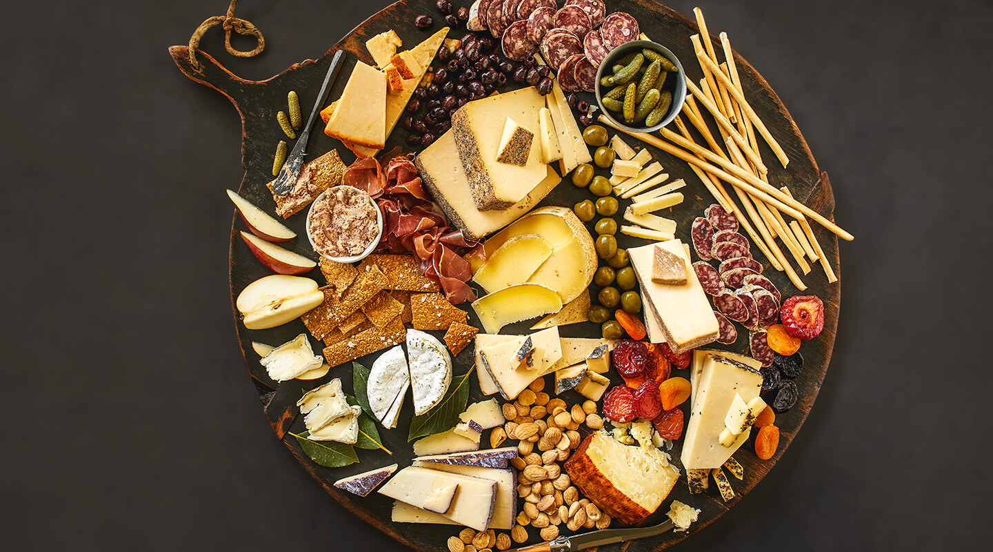 Wisconsin Cheese Harvest Rind Cheese Board Recipe