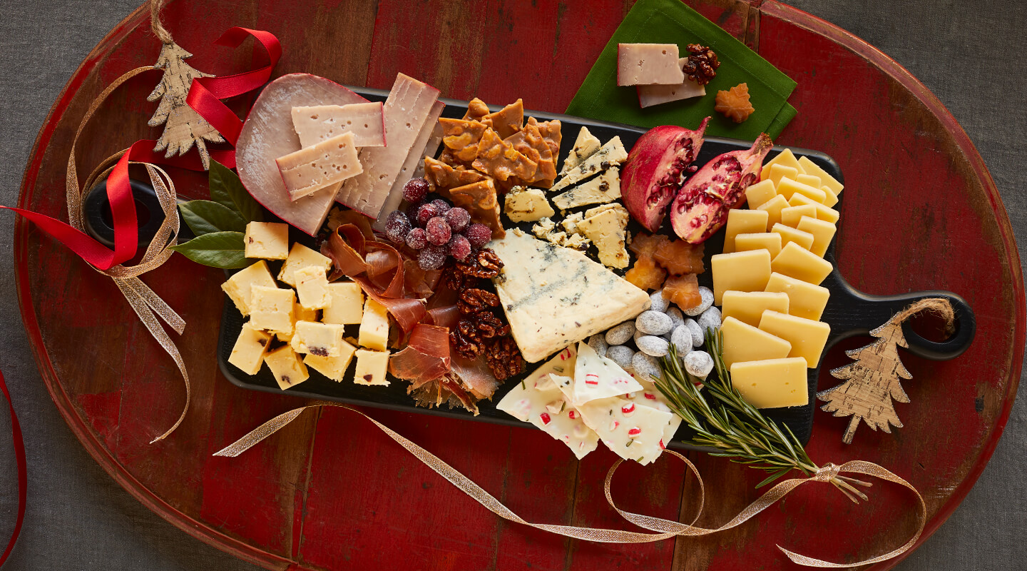 Wisconsin Cheese Festive Holiday Cheeseboard Recipe