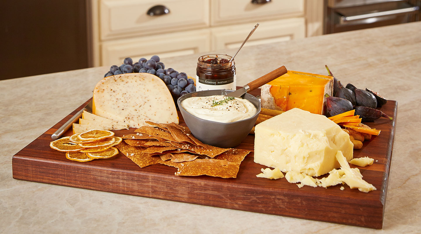 Wisconsin Cheese Friendsgiving Cheese Board Recipe