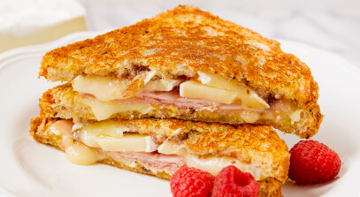 Grilled Ham and Brie