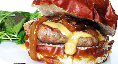 the cream city cheeseburger
