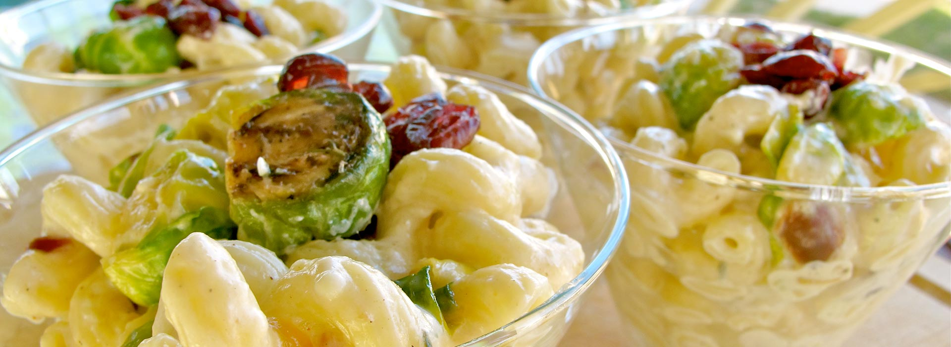 Mac and Cheese with Brussels Sprouts