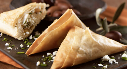 Borek (Flaky Cheese-Filled Pastry with Herbs)