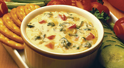 Chile-Cheese Spinach Dip