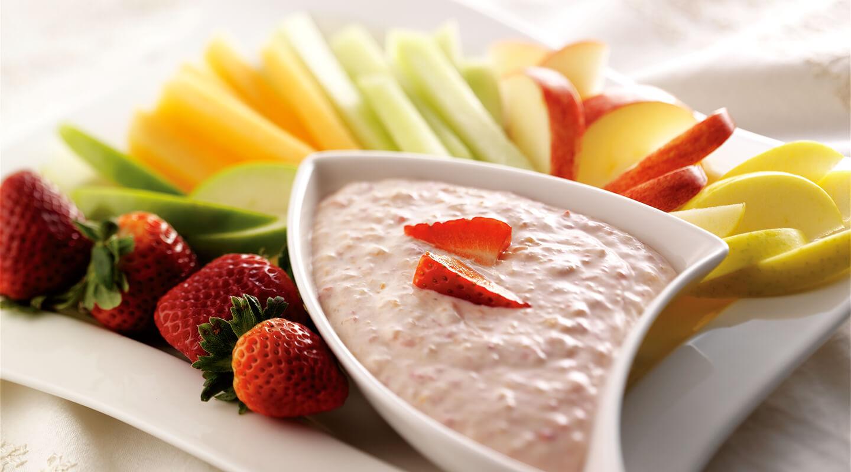 Wisconsin Cheese Creamy Mascarpone Fruit Dip Recipe