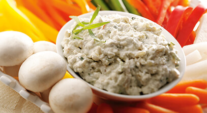 Blue and Cottage Cheese Onion Dip