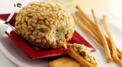 Savory Italian-Style Cheese Ball