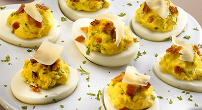 mascarpone deviled eggs