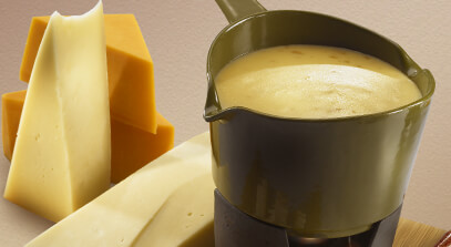 Smoky Cheese Fondue