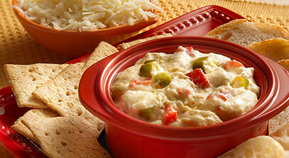Spicy Red Pepper Dip with Provolone