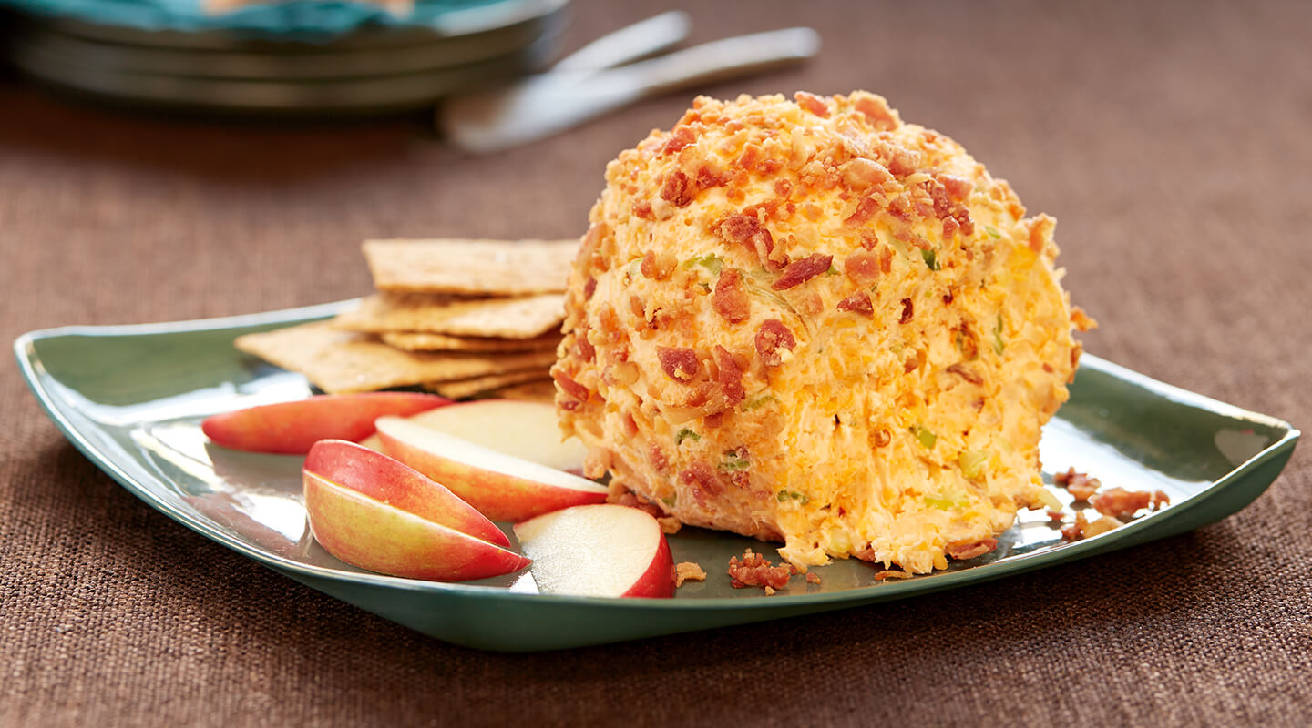 Wisconsin Cheese Bacon and Cheddar Cheese Ball recipe
