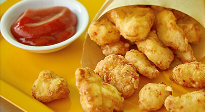 Deep-Fried Cheese Curds