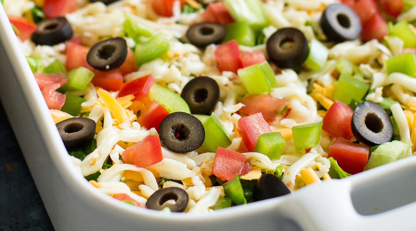 Wisconsin Cheese Three-Cheese Taco Dip Recipe