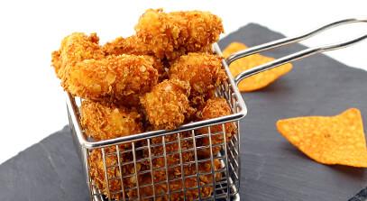 Nacho Fried Cheese Curds