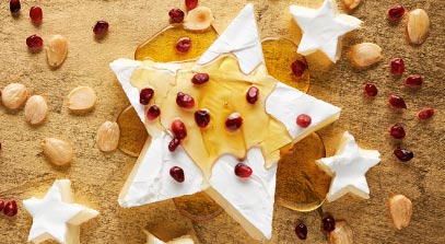 Holiday Star Cheese Board
