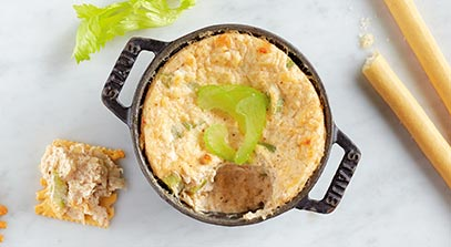 Hot Crab and Asiago Dip