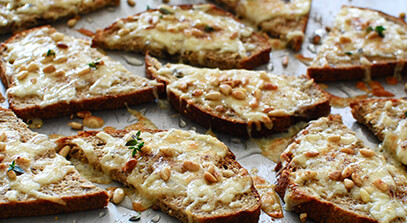 Farmer's Cheese Toasts