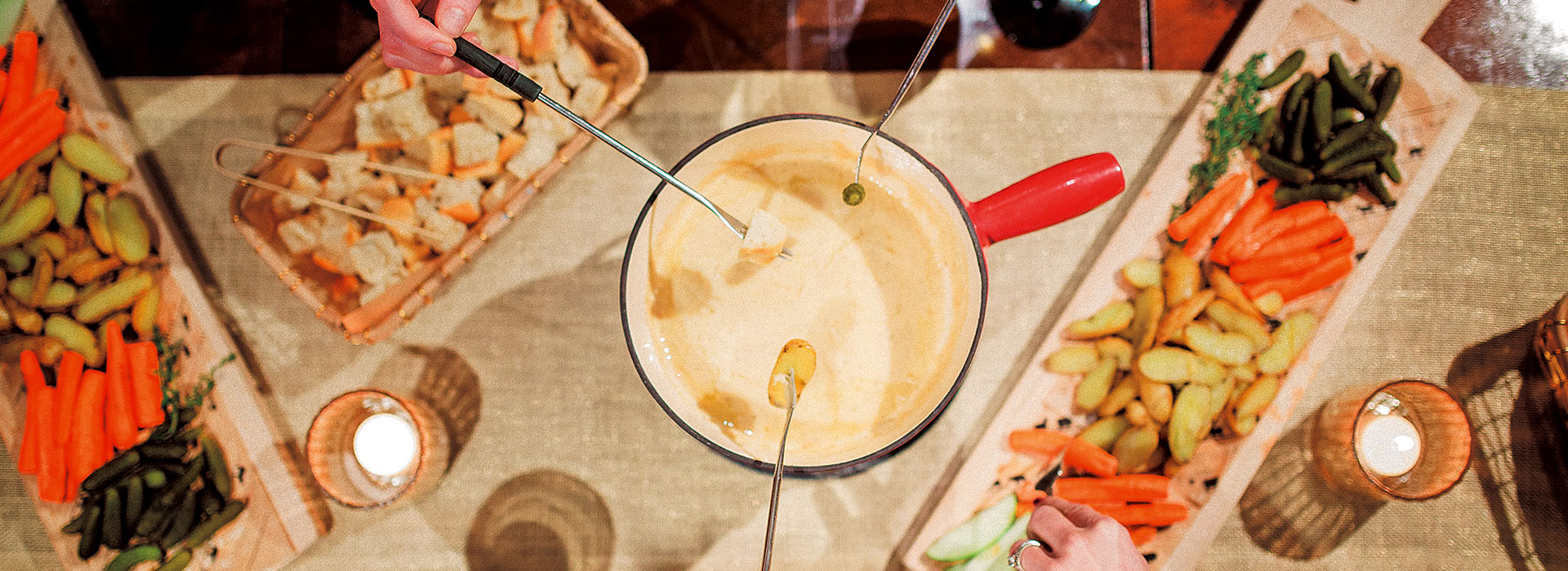 Fromagination's Wisconsin Fondue