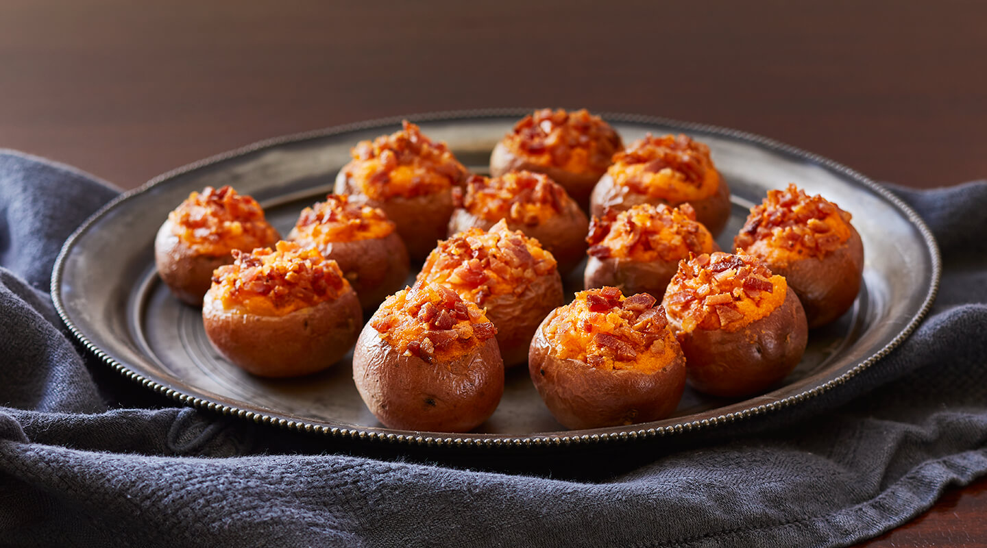 Cheesy Twice-Baked Potato Bites