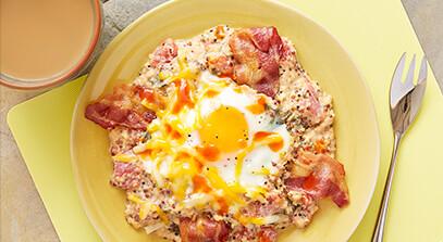 Quinoa Egg Casserole