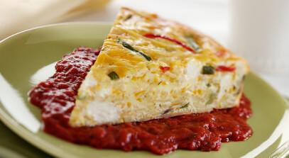 Cheese Pasta Frittata