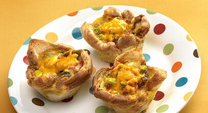 Southwest Muffin Omelet