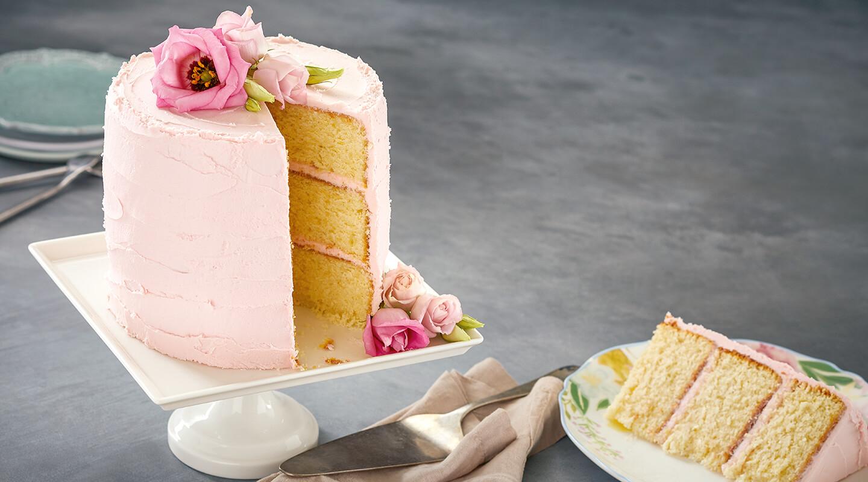 Wisconsin Cheese Lemon-Ricotta Layer Cake recipe