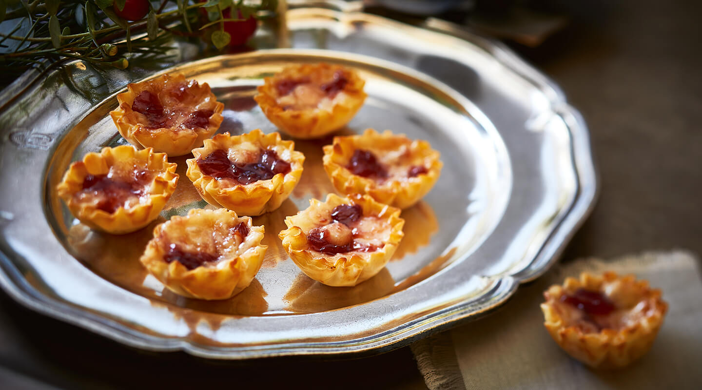 Wisconsin Cheese Cherry Havarti Tartlets Recipe