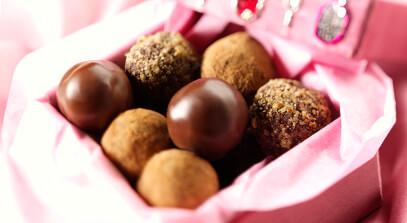 buttery bittersweet mascarpone truffles