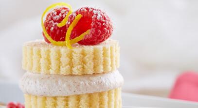 Mini Ricotta Dessert Stacks