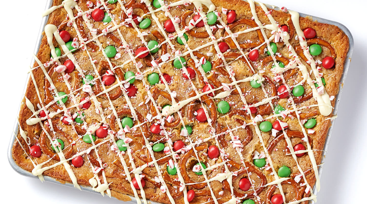 Wisconsin Cheese Holiday Cookie Bars Recipe