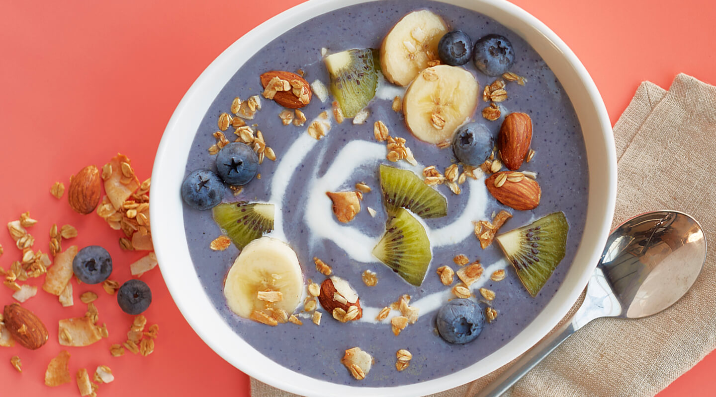 Wisconsin Cheese Blueberry-Ricotta Smoothie Bowl Recipe