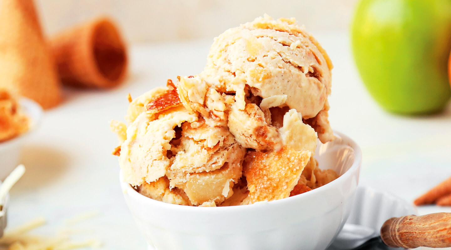 Wisconsin Cheese Cheddar Apple Pie Ice Cream Recipe