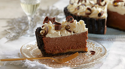 Chocolate Caramel Mascarpone Tart
