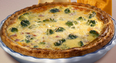 broccoli and cheese pie