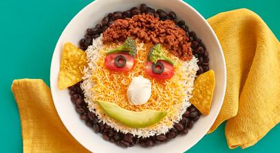Funny Face Taco Bowls