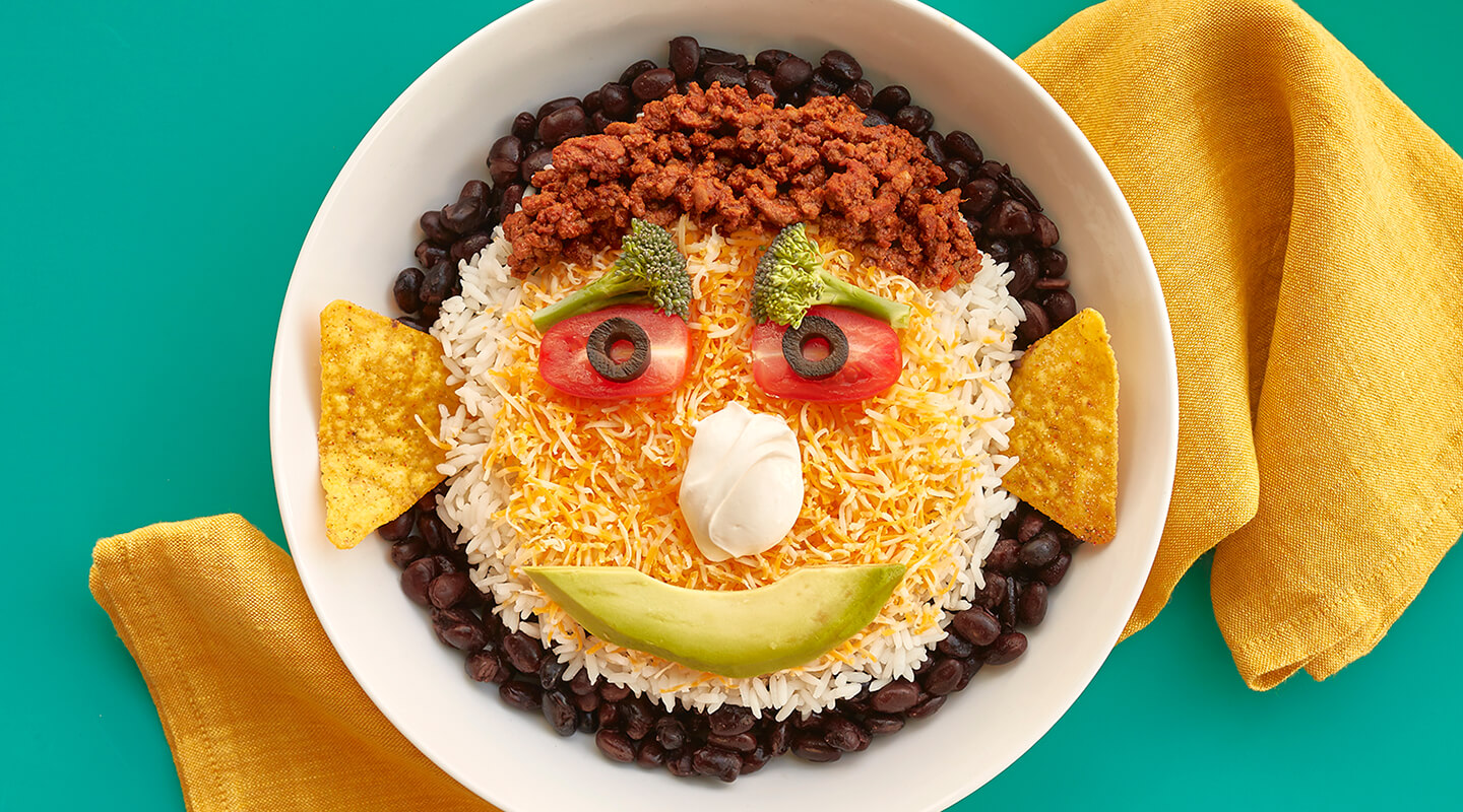 Wisconsin Cheese Funny Face Taco Bowls Recipe